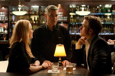 George Clooney en el rodaje de Idus de Marzo