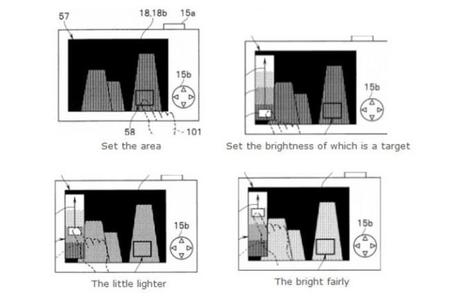 Olympus ha patentado una nueva tecnología de ajuste de la exposición utilizando la pantalla táctil