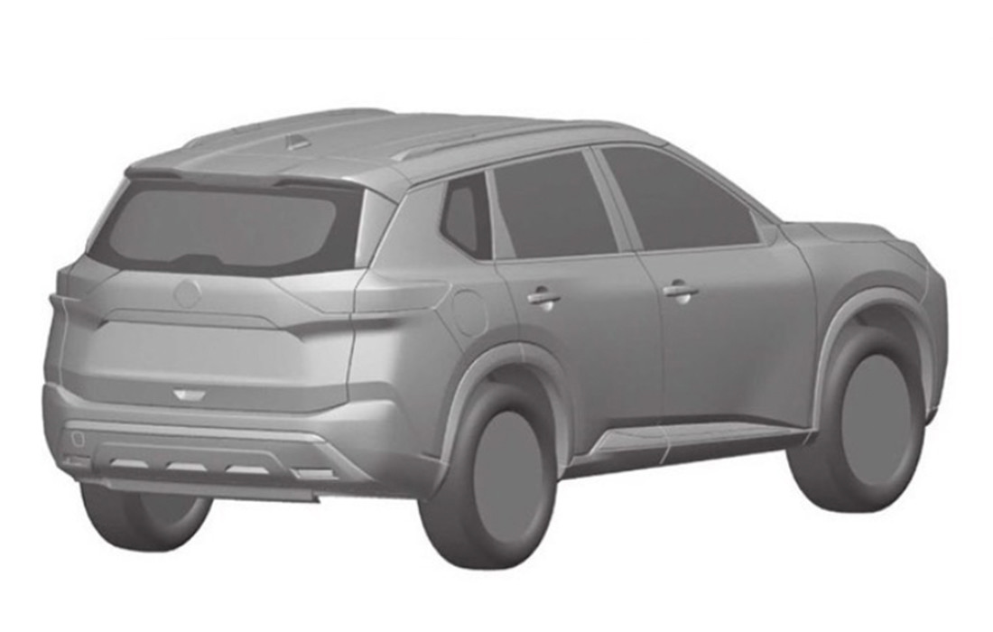 Nissan X-Trail 2021 (bocetos)
