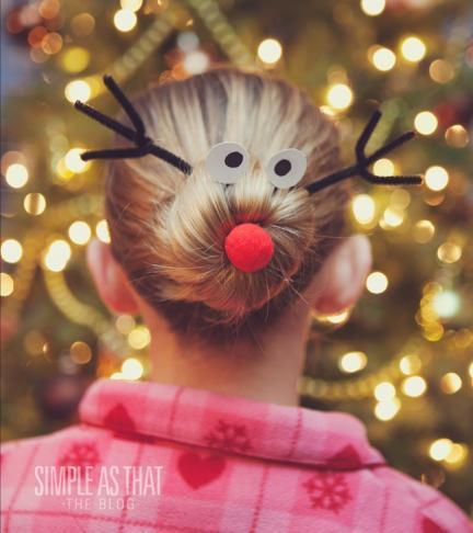 Rudolf reno disfraz niños