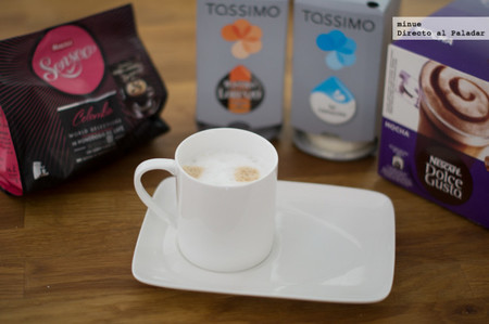 ¿Un cappuccino? Comparativa de cafeteras Tassimo, Dolce Gusto y Senseo