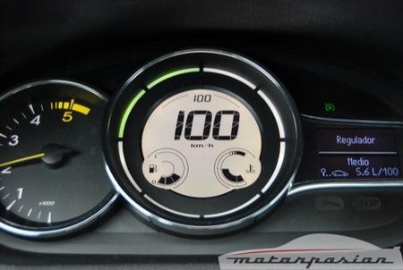 Control de velocidad inteligente: velocidad media en vez de velocidad constante