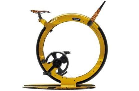 Bicicleta estática de Cavalli, el diseño aplicado al deporte