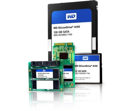 WD SSD family