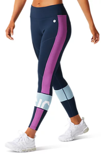Asics Color Block Cropped Tight 2