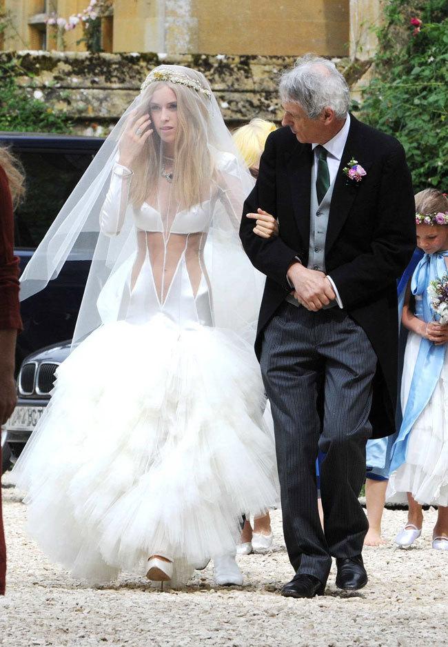 Vestidos de boda famosas