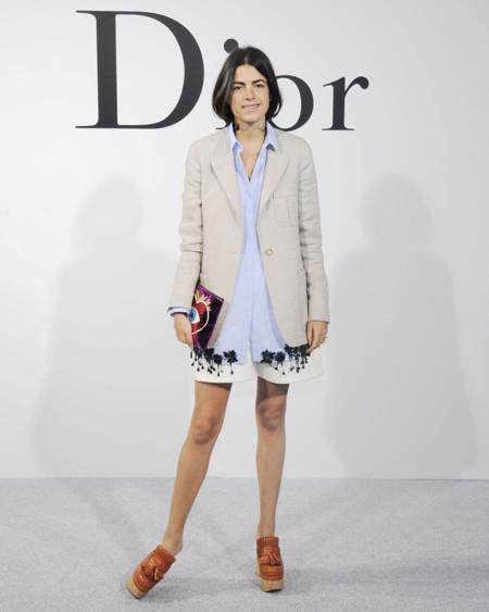 Leandra Medine desfile Dior