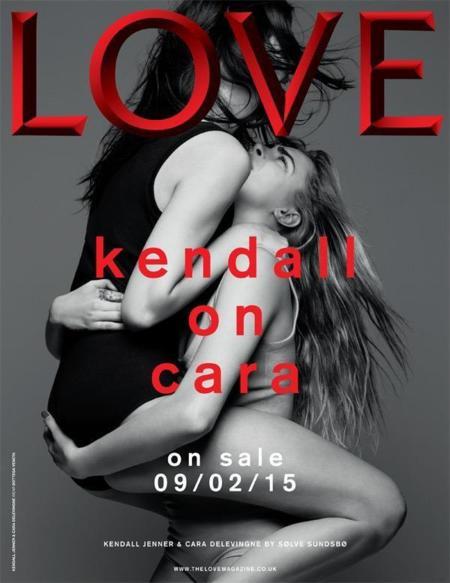 Kendall Jenner y Cara Delevingne para LOVE Magazine