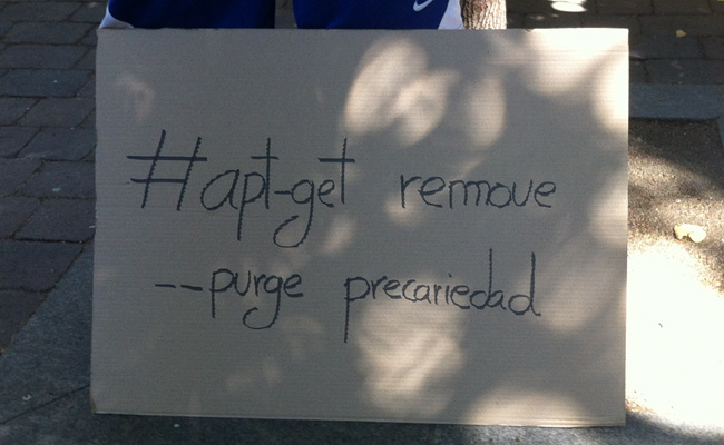 #apt-get remove --purge precariedad