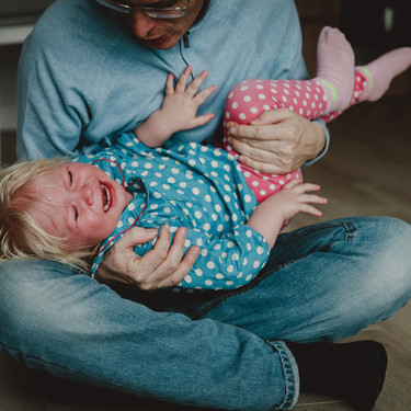 """Espasmos del sollozo o apnea emotiva: cuando parece que nuestro hijo no """"arranca a llorar"""""""