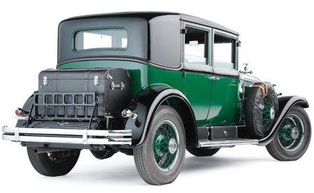 El 1928 Cadillac Town Sedan de Al Capone a la venta