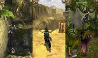 El Temple Run de Lara Croft es uno de los más espectaculares que he jugado
