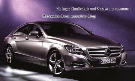Mercedes-Benz CLS 2011, primeras fotografías filtradas