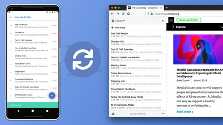 Notas de Firefox llega a Android: notas encriptadas y sincronizadas a través de la cuenta de Firefox