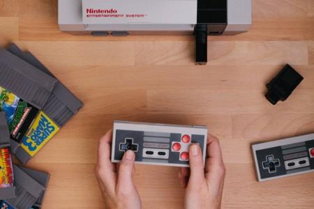 Tu NES te permitirá jugar con cualquier mando inalámbrico gracias a un adaptador