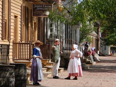 Colonial Williamsburg, la ciudad museo en la que siempre parece Acción de Gracias