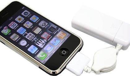 Batería de emergencia para el iPhone