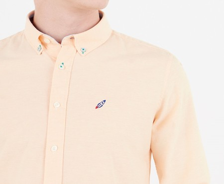 Camisa Oxford espacial