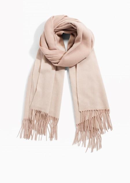 Bufanda manta de lana