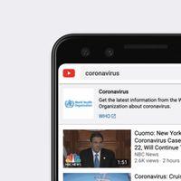 YouTube volverá a monetizar los vídeos sobre coronavirus, pero con condiciones