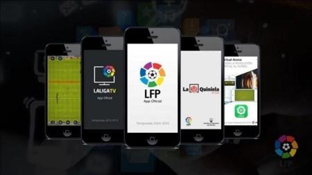 La LFP estrena aplicación móvil con resúmenes y partidos de Liga Adelante en directo gratis