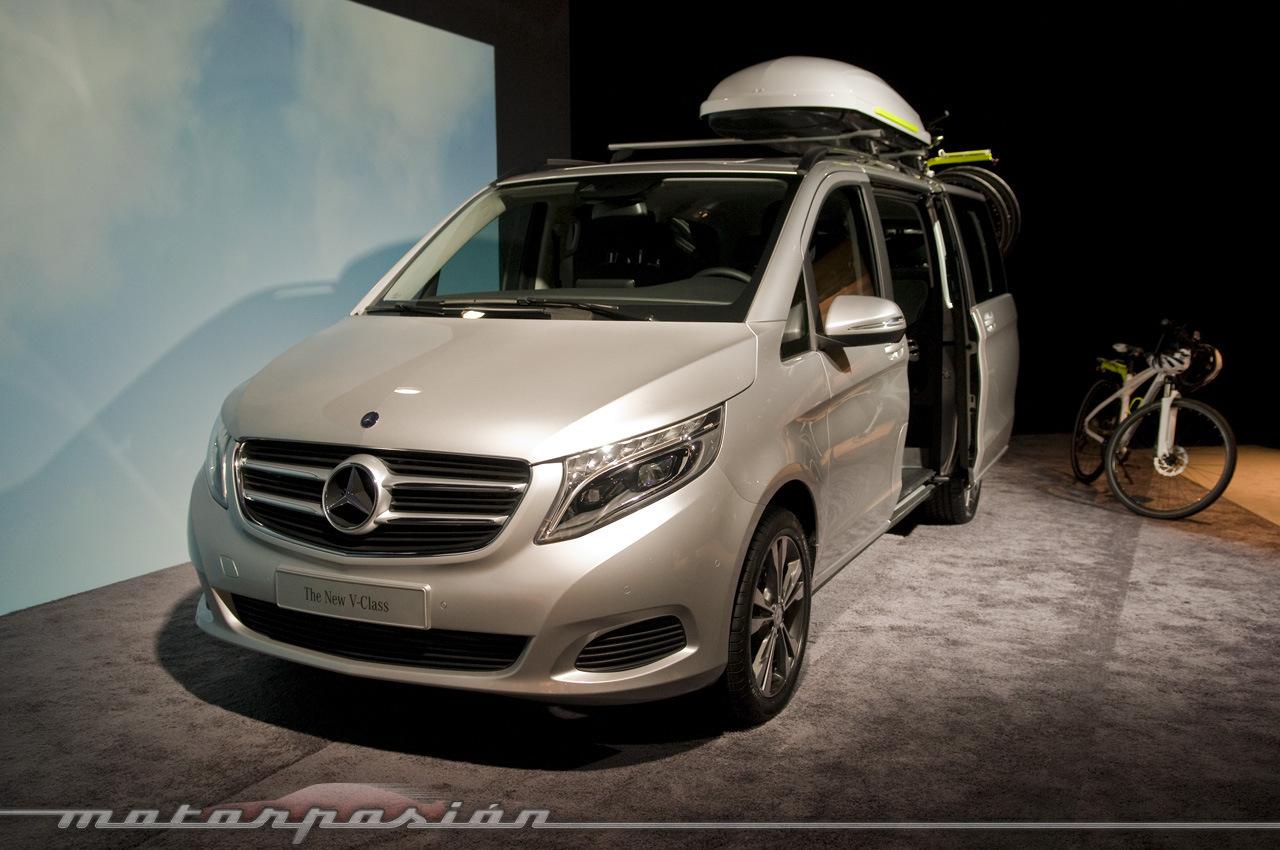Foto de Mercedes-Benz Clase V (presentación) (20/40)
