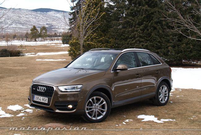 Audi Q3 quattro prueba 02