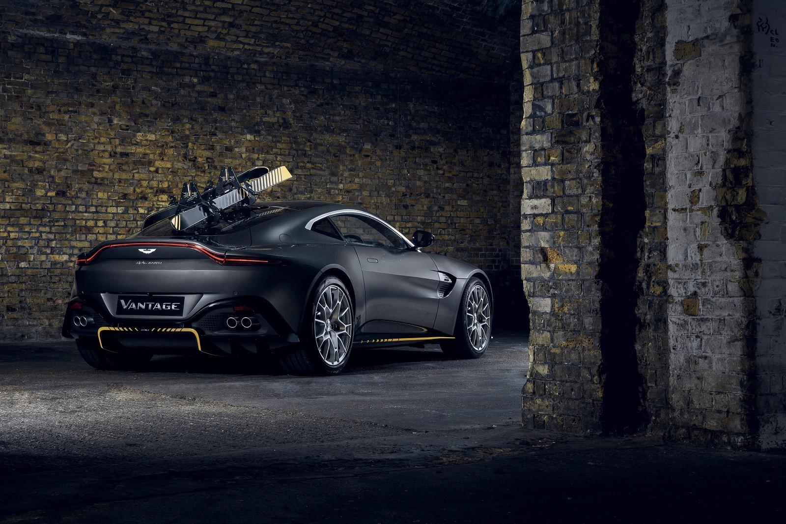 Foto de Aston Martin Vantage y DBS Superleggera 007 Edition (16/39)