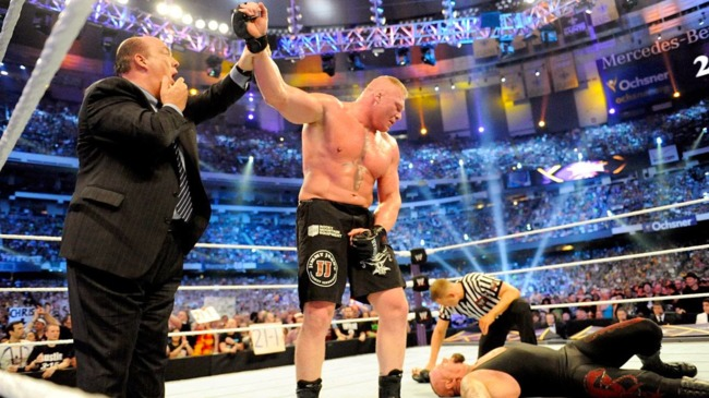 Paul Heyman, Brock Lesnar y Undertaker
