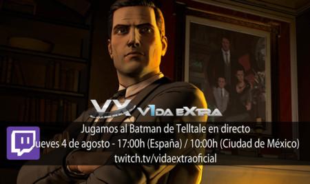 Jugamos en directo a Batman: The Telltale Series a las 17:00h (las 10:00h en Ciudad de México) (finalizado)