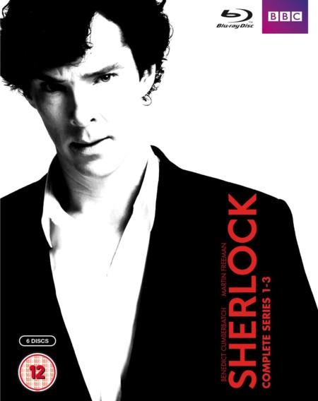 Las tres temporadas de Sherlock, en Blu-ray, por 26 euros