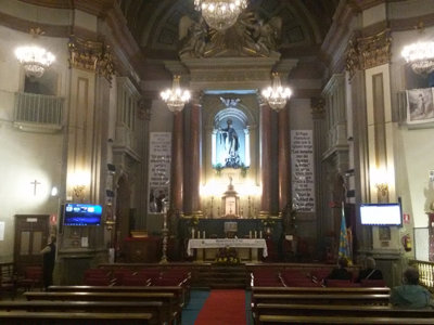 La Iglesia de San Antón permite ser visitada 24 horas al día los 365 días del año