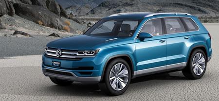 Volkswagen CrossBlue Concept, un SUV TDI híbrido y enchufable