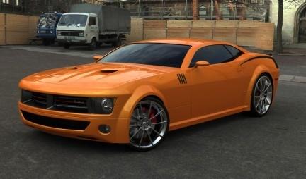 2008 Cuda Concept por Rafael Reston