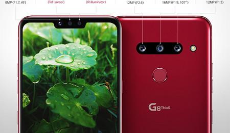 Lg G8 Lector Mano Smartphone Que Se Controla Sin Tocar