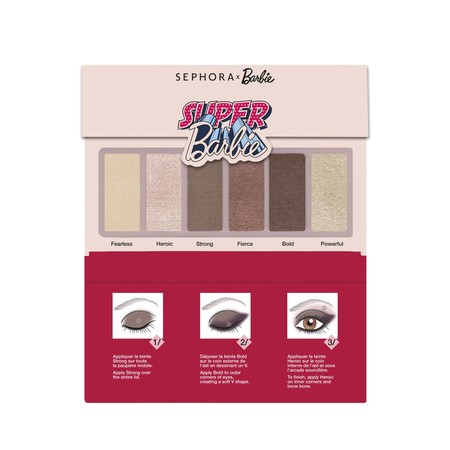 barbie x sephora collection paleta