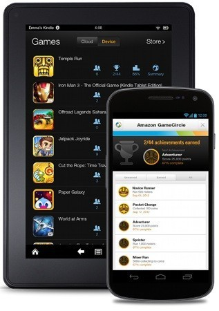 Amazon expande su GameCircle a todos los dispositivos Android