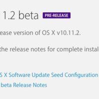 Apple distribuye la primera beta de OS X 10.11.2 a los desarrolladores