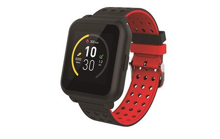 Muvit I O Miosmw009 Reloj De Actividad Y Sueno Negro Y Rojo