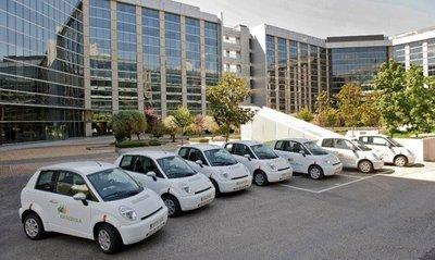 Iberdrola pone a disposición de sus empleados coches compartidos eléctricos