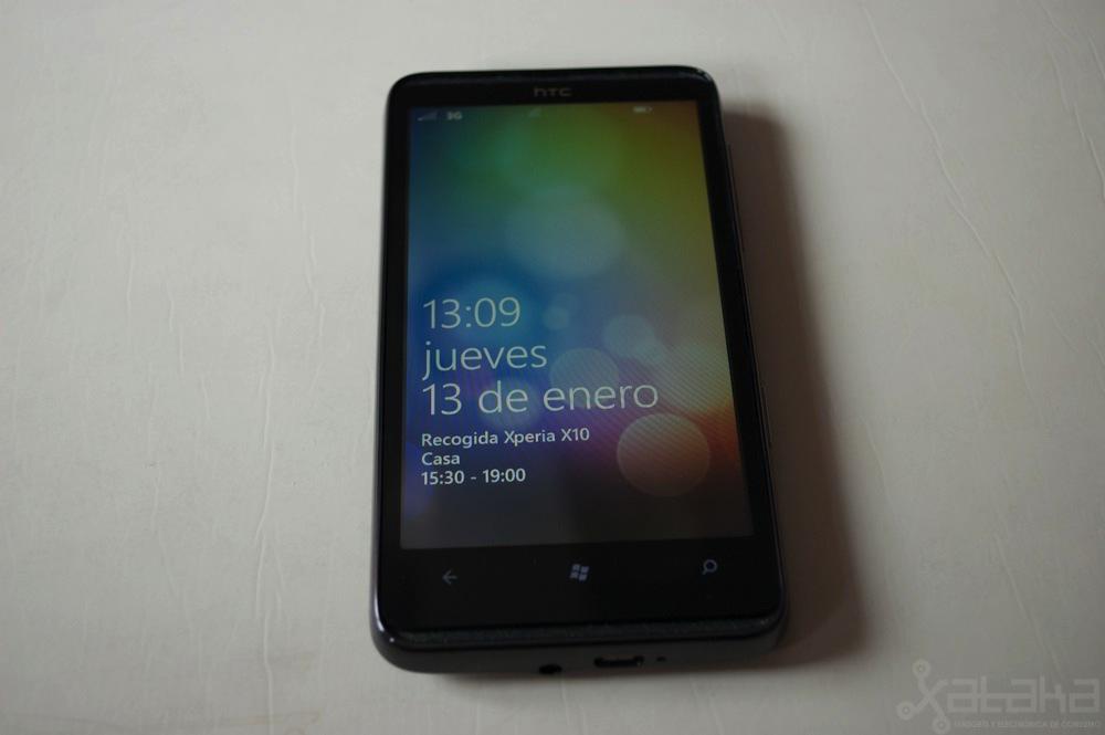 HTC HD7, análisis