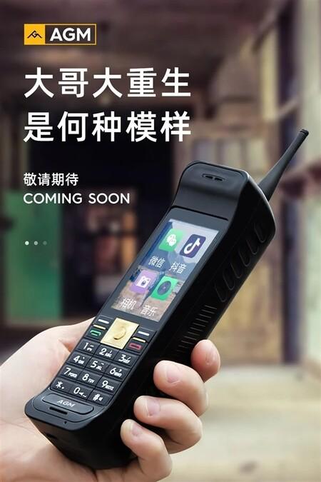 Agm Smartphone Ladrillo Diseno Ultra Resistente