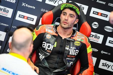 Andrea Iannone, suspendido por la FIM por dar positivo en un control antidopping durante el GP de Malasia
