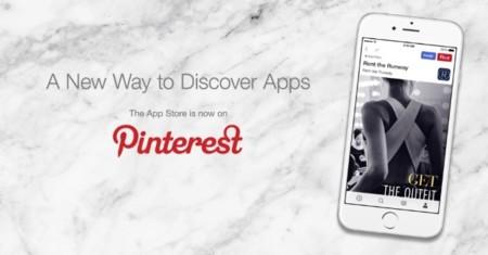 La App Store llega a Pinterest, una nueva forma de descubrir nuevas aplicaciones