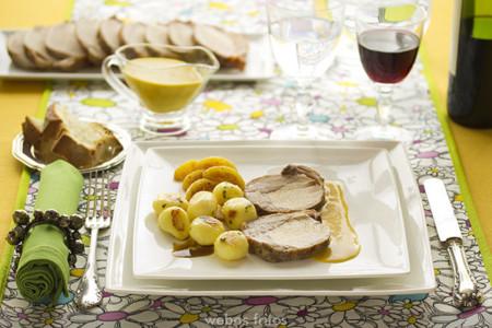 Paseo por la gastronomía de la red: diez recetas de lomo de cerdo para Navidad