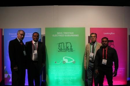 Trici-Taxi eléctrico, la nueva propuesta de transporte en CDMX