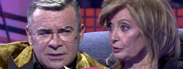 """María Teresa Campos asume toda la responsabilidad del conflicto con Jorge Javier Vázquez en su vuelta a 'Sábado Deluxe': """"Dije tonterías"""""""