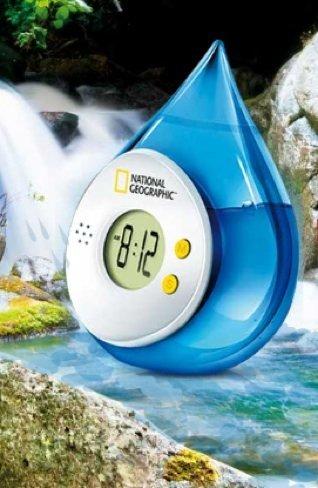 reloj de agua cola cao
