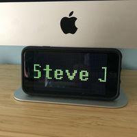 LEDit 4 es una utilidad para poner mensajes luminosos a toda pantalla en tu iPhone