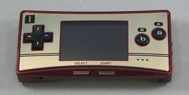 Gameboy Micro edición FamiCom